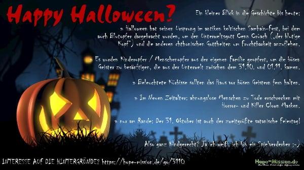 Happy-Halloween Infografik