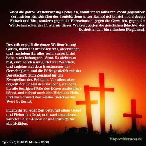 Epheser 6,11-18