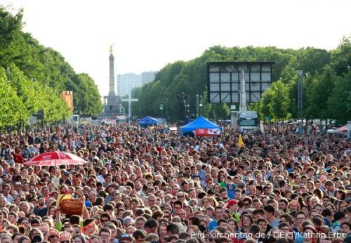 Kirchentag 2017 Strasse des 17.Juni