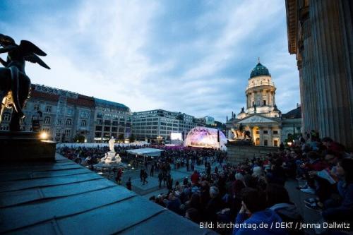 kirchentag 2017 Abendsegen Gendarmenmarkt